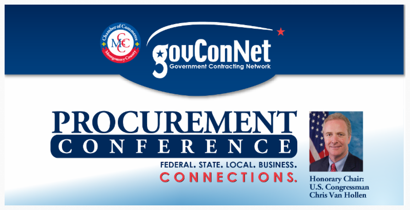 M. Luis Attends MCCC GovConNet Procurement Conference